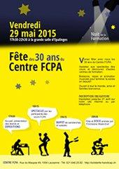 Nuit de la Formation: 30 ans du FCPA