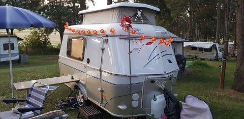 Les joies du Camping en famille